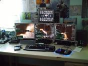 Meiner 2008 mit 4x EVE Online Parallel