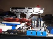 Der Cooler Master Gemin 2 Auf dem ASUS Rampage Formula