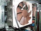 Der Prozessorkühler (Noctua NH U12P)