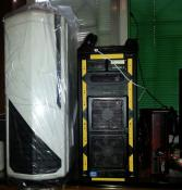 NZXT Phantom 820 & Antec Lanboy Air & XBOX360..- -