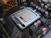 CPU auf Sockel