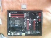 Mainboard + CPU
