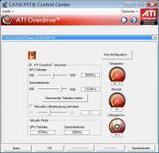 ATI CATALYST: Vorteil bei Asus sind die ATI-Overdrive Einstellungen (im ATI Catalyst) bis 1200/1400 (GPU/Speicher) sowie die volle Funktion des MSI-Afterburner (1000/1200 GPU/Speicher) @ 1,3 Volt. Bild: (900/1300 GPU/Speicher mit originaler Spannung) direkt über/mit ATI CATALYST (ATI-Overdrive)  übertaktet.