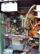 Nachdem Chipsatz- und RAM Kühler angebracht wurden :)