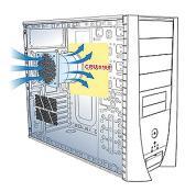 Thermaltake Soprano VX VD6000BNS Lüftungssystem