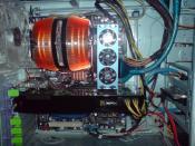 mehr Kabelmanagement geht nicht ; (