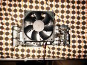 XFX Geforce 8800 Ultra mit dem neuen Thermalright HR-03 GT