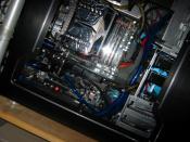 Erstes Bild des PC's