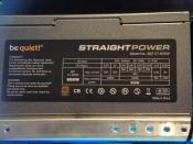 Neues Netzteil E7 600Watt ~ Be Quiet