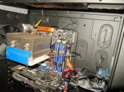 CPU mit Kühler drauf