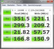 Crucial m4, 256GB, Systemplatte