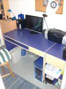Mein Arbeitsplatz Rustikal und Sauber wie ich