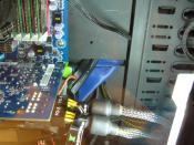 Das selbst angefertigte Kabelmanagement