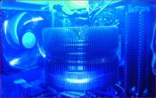 Zalman CNPS 9700 LED + Corsair Dominator 4 GB DDR2-1066 Kit