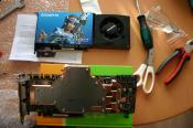 Vor Umbau: Standard Nvidia GTX280