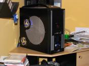 Gehäuse AirBox schwarz