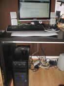 Schreibtisch+PC