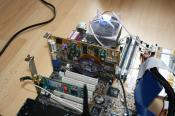 Der CPU-Kühler kühlt einen Athlon XP mit 1250 MHz