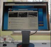 """Mein 24"""" Monitor von NEC"""