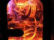 "EVGA 790i SLI FTW Digital PWM ""Black Pearl""+ Wassergekühlter DDR3 Speicher OCZ Flex Ex+ EK Suprem"