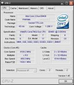 CPU-Z C2D @ 4,1 GHz