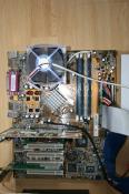 Das Ausu A7N8X2.0 von oben