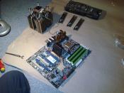 CPU Kühlermontage