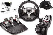 Logitech® G25 Racing Wheel  Naturalpoint Track IR 3 Pro incl. Vector Expansion Kit