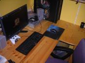 Workstation von Oben