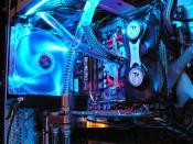 Radiator klein und CPU