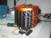 Der CPU-Lüfter Asus Silent Square Pro