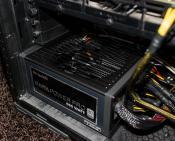 Nahansicht auf das Netzteil be quiet! Dark Power Pro 11