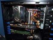 Der Rechner anfangs 2010, wieder mit dem alten Scythe im Heck. (der hat einfach den besseren Durchzug)(Q9650,8GB DDR2-1066,GTX285,8800GTS640)