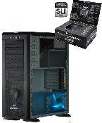 Enermax Blue Viper CS-718-B - black + BE Quiet! Straight Power 600Watt Netzteil