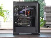 Der Grillforce-PC von der Seite
