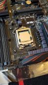 Mainboard mit installierter CPU