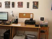 Schreibtisch Bild 2