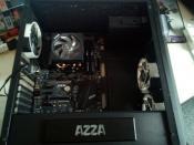 CPU - Kühler - RAM - Board und Tower