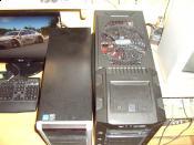 Größenvergleich oben / Links = Altes Gehäuse (CoolerMaster Elite RC-330)