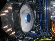 CPU Kühler closeup