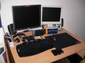 Mein Dual Monitor Gespann