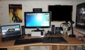Aktueller Schreibtisch