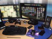 Wie man sieht, 2 Monitore :D