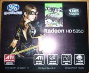 Meine HD5850 von Sapphire