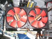 Meine 8800 GTS 512MB + Accelero S1 und 2 Xilence Redwings 120mm