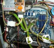 Innenansicht CPU Kühlung