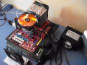Mein PC aufm Schreibtisch!