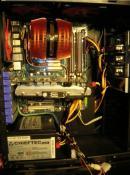 Kabelmanagement nachher inkl. schwarz lackiertem Gehäuse