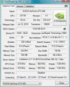 GPU-Z  nVidia GeForce GTX 460 (Gainward)