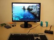 Monitor, die letzte neuanschaffung von mir, für ein TN panel wirklich gut